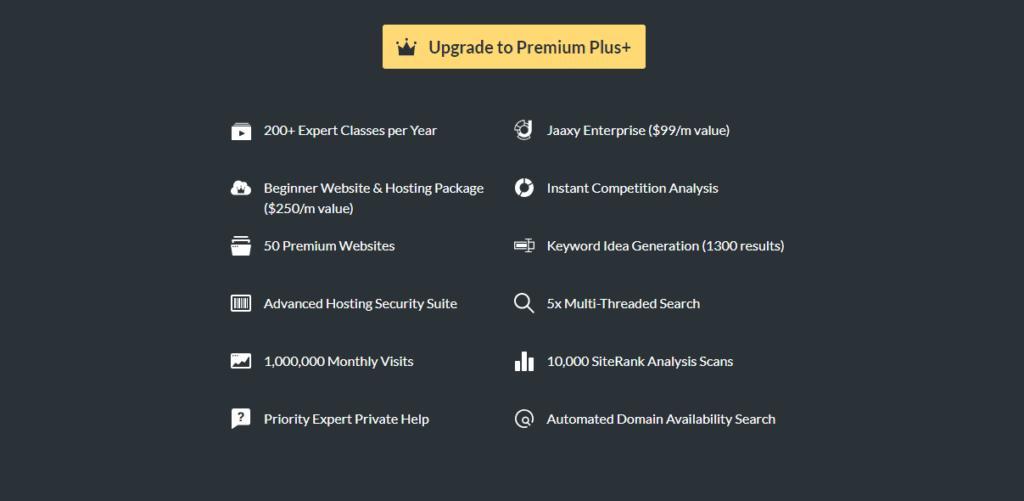 Wealthy Affiliate Premium Plus