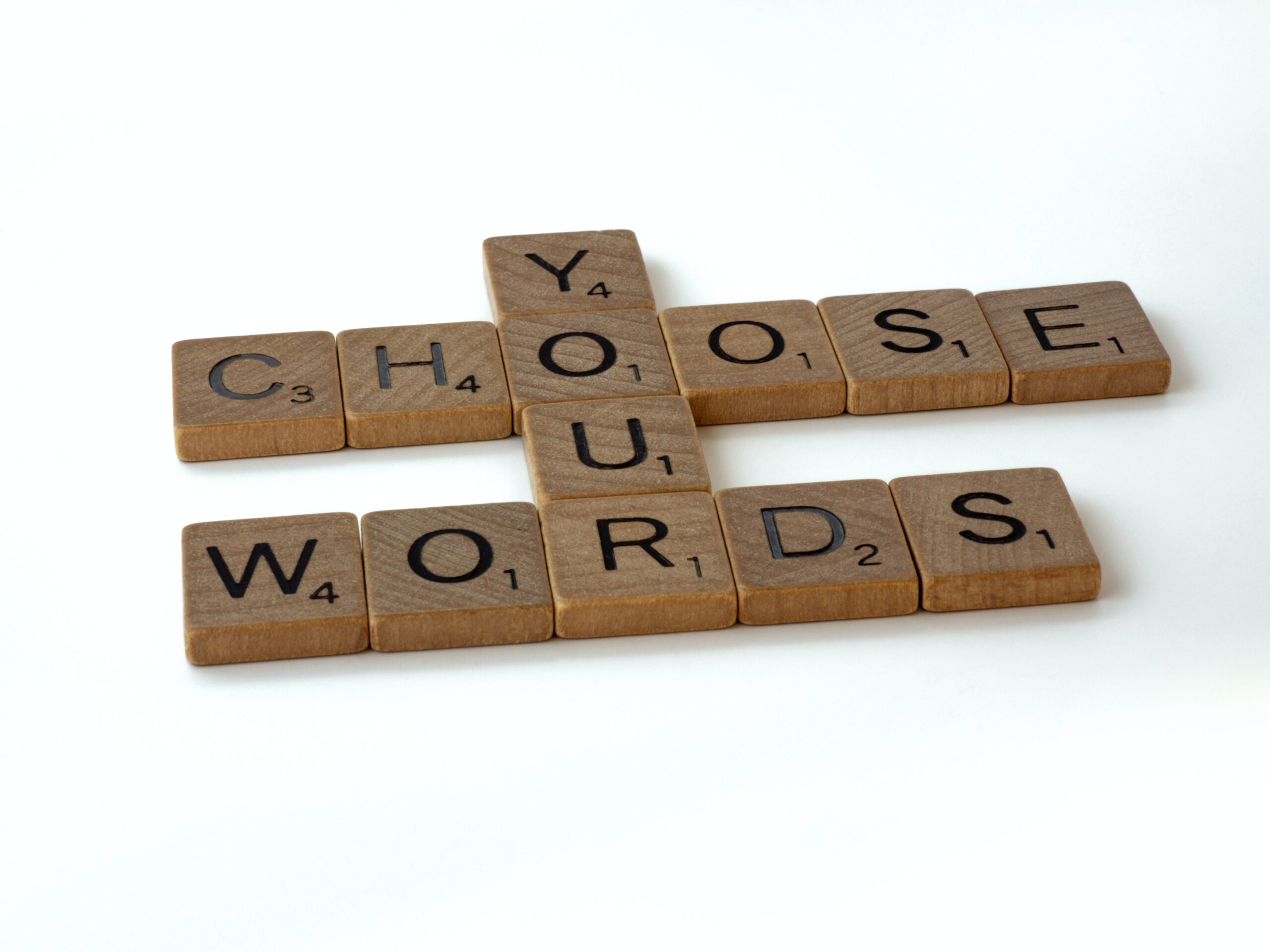 choose your words wisely